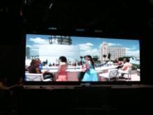 Курск, 2013 год. Огромный светодиодный экран в ночном клубе