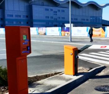 Парковка с оператором и фотофиксацией в аэропорту г. Одесса