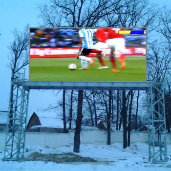 Ирпень, 2013. LED-экраны пришли на университетские стадионы