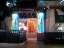 Орёл, 2014 год. LED-экран в мотеле на автостраде