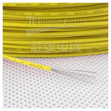 UL1007 24AWG жёлтый