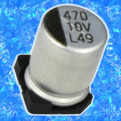10 мкФ 25 В 20% (ELV)