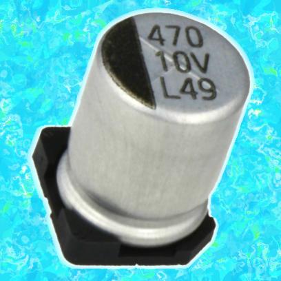 10 мкФ 50 В 20% (ELV)