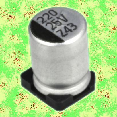 22 мкФ 10 В 20% (EZV)