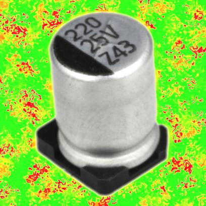 220 мкФ 16 В 20% (EZV)