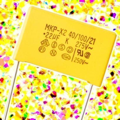 0.33 мкФ 10% 275 В (X2) P15