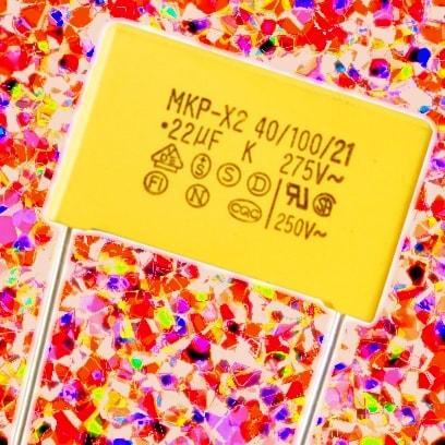 0.47 мкФ 10% 300 В (X2) P15
