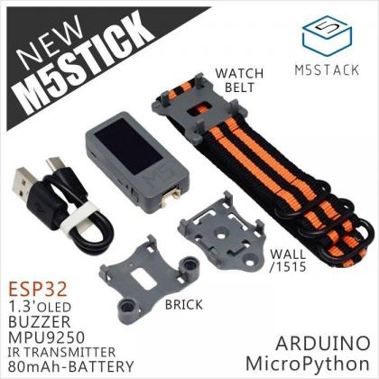 M5Stick (With MPU9250 & Wristband)