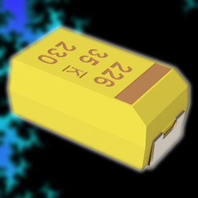10 мкФ 16 В 10% (CASE-A)