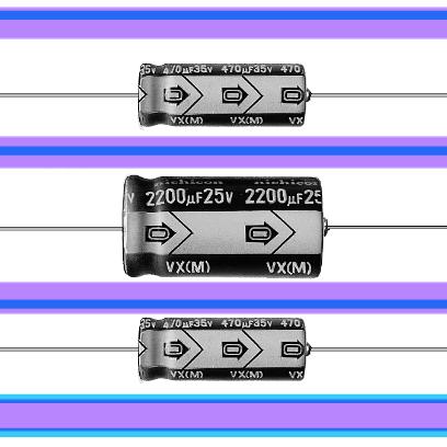 10 мкФ 63 В 20% (VX)