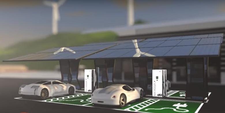 Зарядные устройства электромобилей