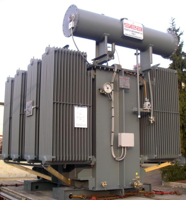Мощные повышающие трансформаторы 10 МВА для электростанции на биомассе в Италии