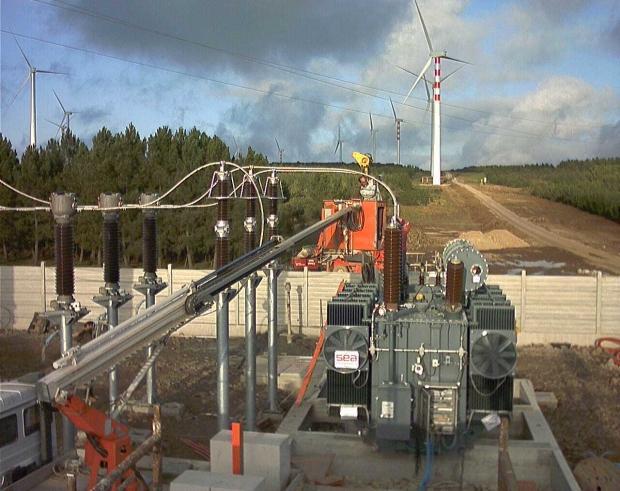 Трансформаторы SEA для ветровых парков в Южной Италии