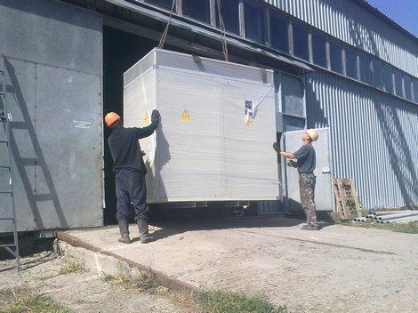 Трансформатор СЭА на объекте в Кировограде