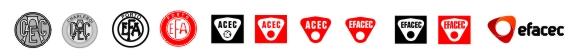 Эволюция дизайна логотипа компании Efacec