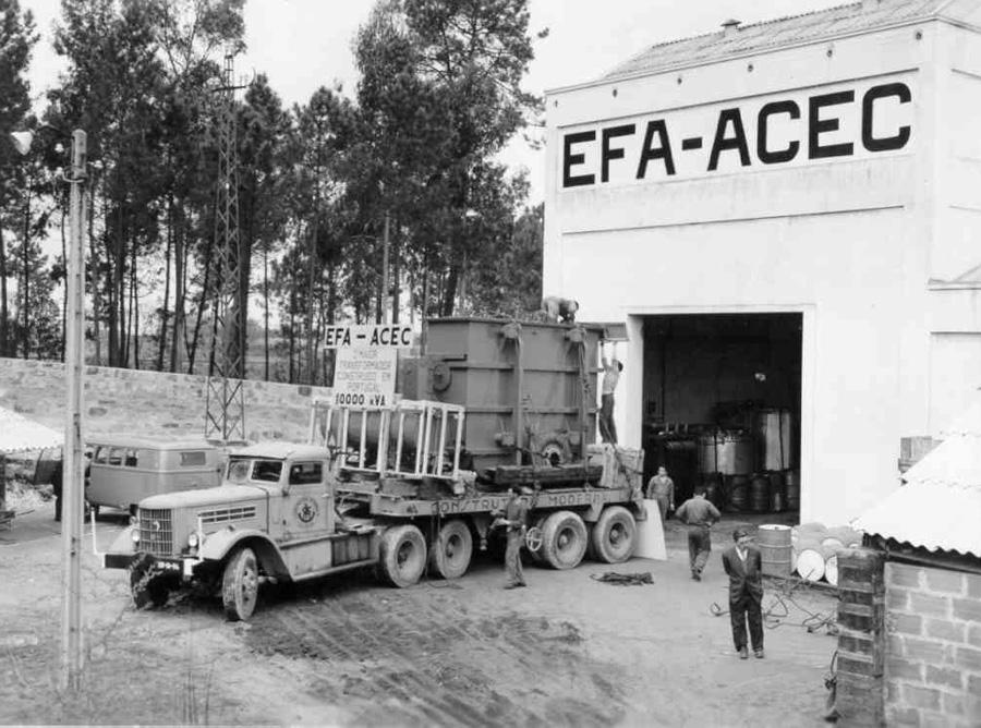 Efa-Acec в самом начале своего пути