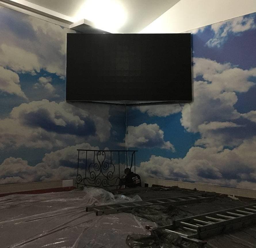 Світлодіодний екран P5 indoor