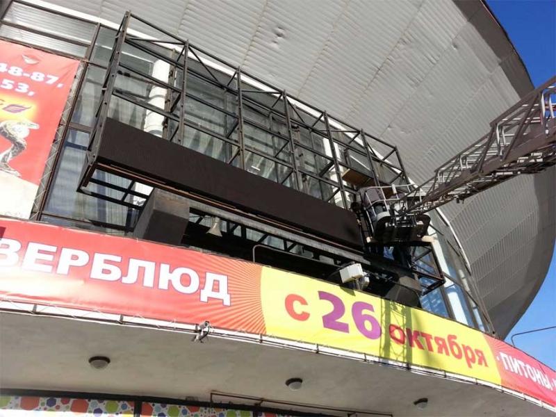 Светодиодные экраны для улицы