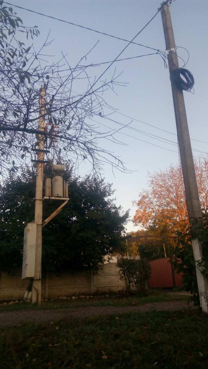 вуличне освітлення, вуличне освітлення в Апостолове, мережа освітлення
