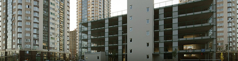 Компания СЭА завершила оборудование многоуровневого паркинга в Броварах Киевской области светофорным оборудованием