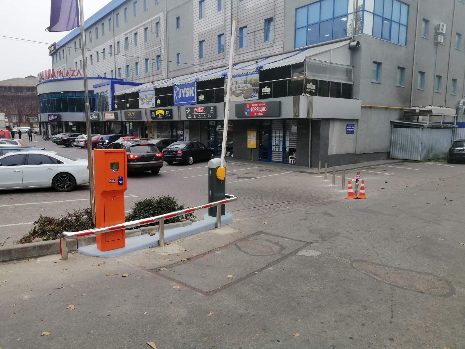 автоматический парковочный комплекс в Ивано-Франковске