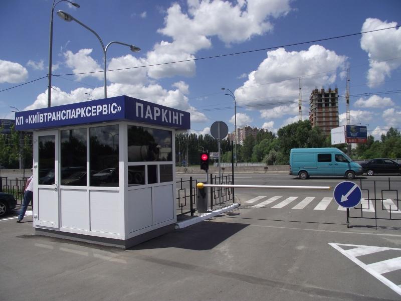 Паркинг СЕА для Киевтранспарксервис