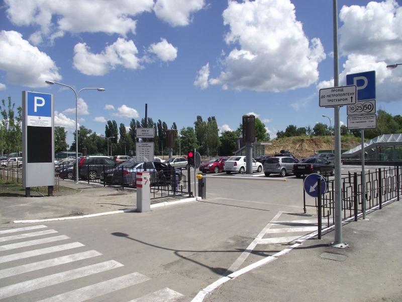 автоматическая парковка, паркинг, терминал въезда, парковочный комплекс