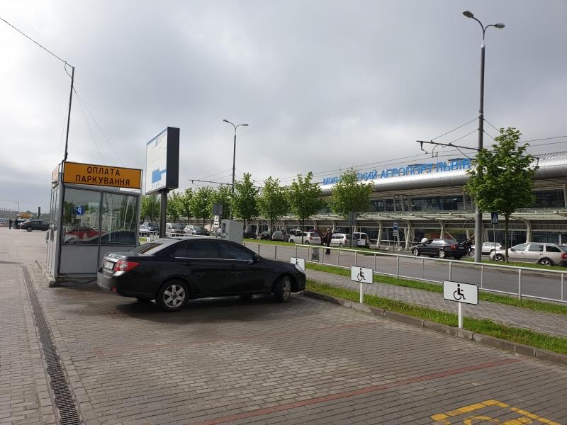 Автоматическая система паркинга, паркинг, аэропорт львов