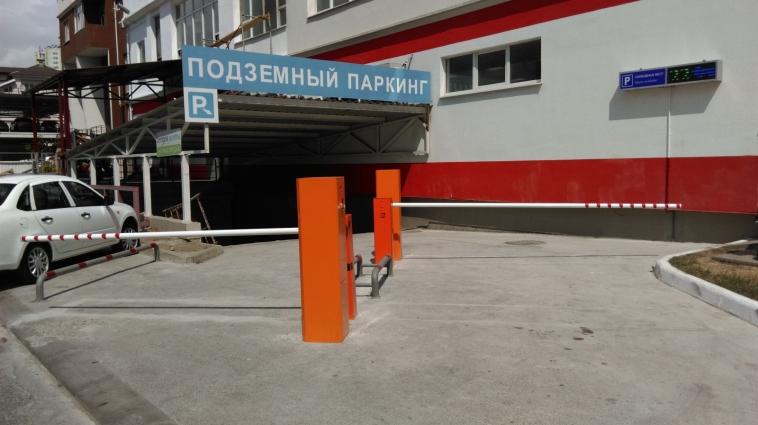 Подземный паркинг СЭА в Сочи