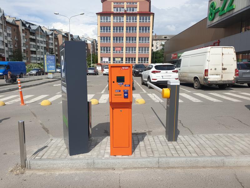 Перший автоматичний паркінг у м. Тернопіль