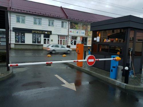 Парковка Виноградов, парковка, Парковочная система с реверсивным проездом