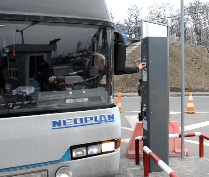 Парковочная система СЭА на автовокзале