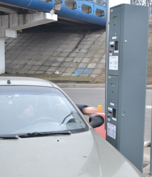 Парковочная система на автовокзале