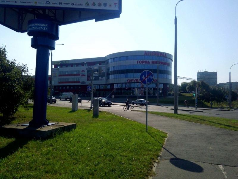 """Полуавтоматическая парковка ТРЦ """"Ленинград"""""""