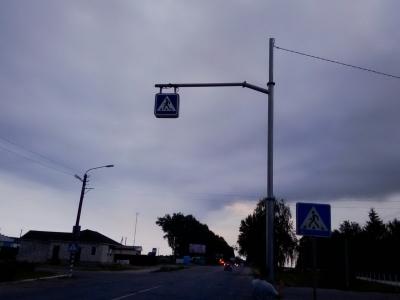 освітлення дороги, система led освітлення, освітлення пішохідного переходу