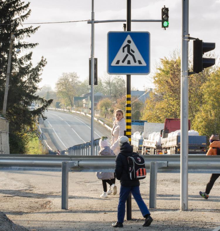 Светофор на Тернопольщине, светофор, светодиодный светофор
