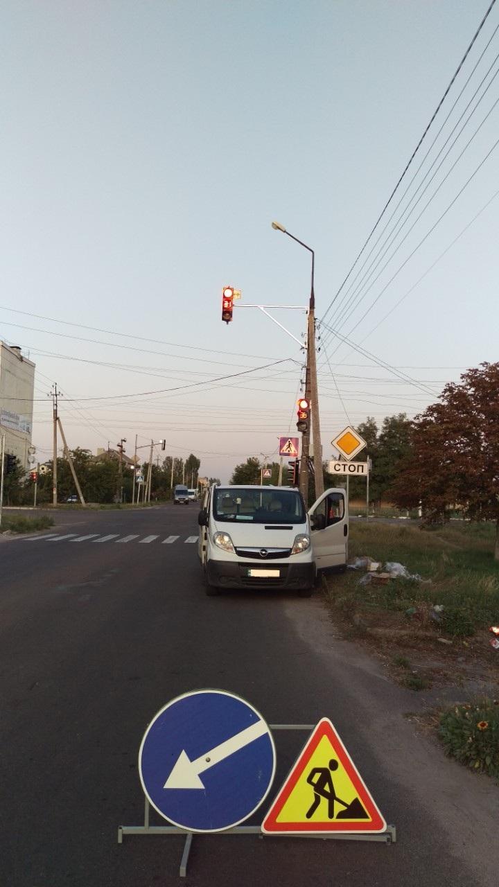 светофорный объект, светофор, светодиодный светофор