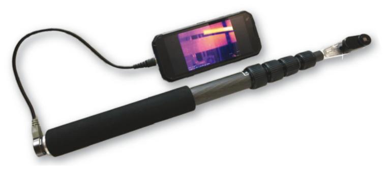 Тепловізійна камера з ручкою-тримачем