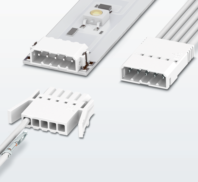 Connectors PTSM with clamp contacts