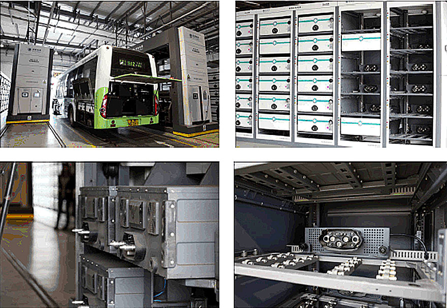 Компания также предлагает специальные разъемы для подключения сменных аккумуляторных батарей электробусов