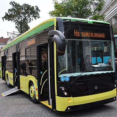 В Житомире планируют наладить производство электробусов