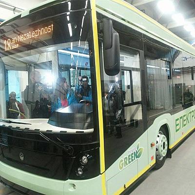 Первый в Украине серийный электробус выйдет на улицы Львова