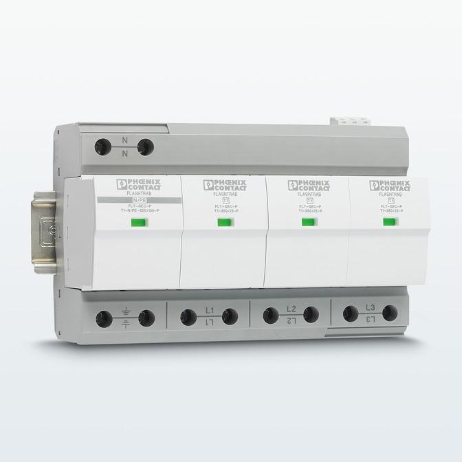 FLASHTRAB-SEC-PLUS-350 – молниезащитный разрядник для высокого номинального напряжения