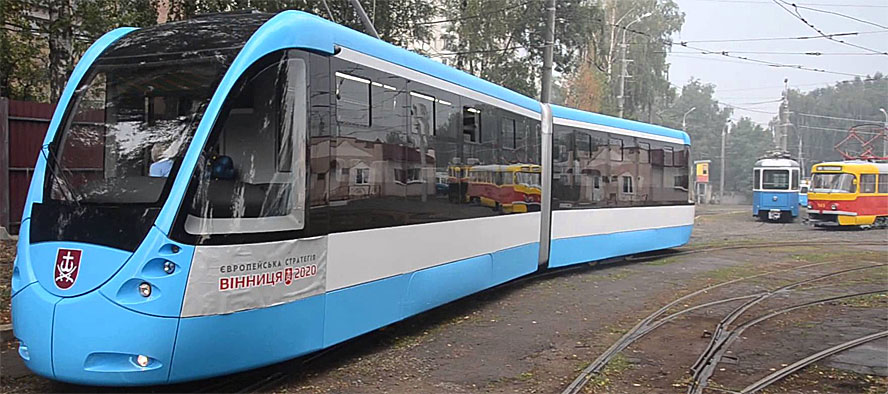 Прагматичные житомиряне примеряют на свой город удачный опыт соседей: Винницы, выпустившей собственный евротрамвай и Львова, запустившего первый электробусный маршрут