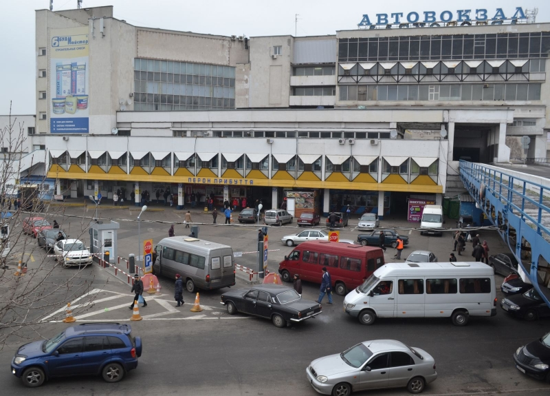 New automated parking with an operator was designed and mounted by SEA Company at the central bus station in Dnepr.