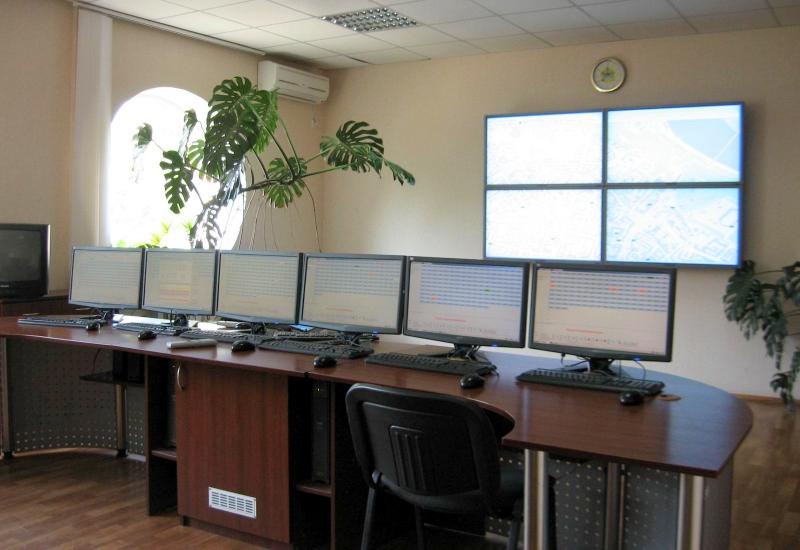 Urban lightning management dispatcher office