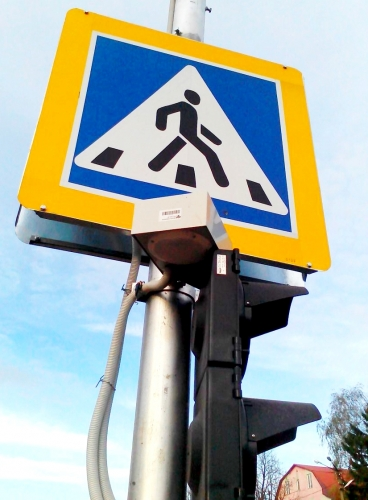 Audible signal devices SEA are designed to give audible signals on pedestrian crossings equipped with traffic lights