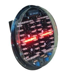 LED traffic lights countdown timer module