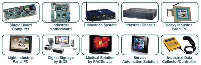 Спектр продукции IEI Technology