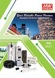 Каталог LED-драйверів MEAN WELL 2021